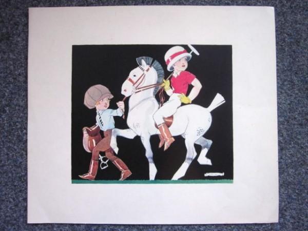 Original Chromolithografie - Rene Vincent (#1)