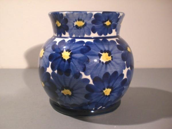 Jugendstil-Vase mit floralem Dekor - Jean Beck
