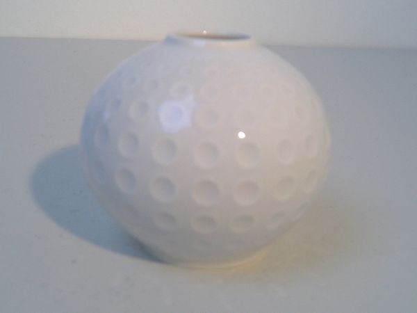 Kleine Arzberg-Vase 'Golfball' - Heinrich Löffelhardt