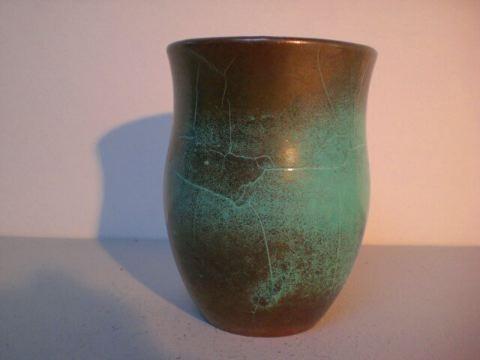 Vase mit Kupfer-Reduktionsglasur - Richard Uhlemeyer