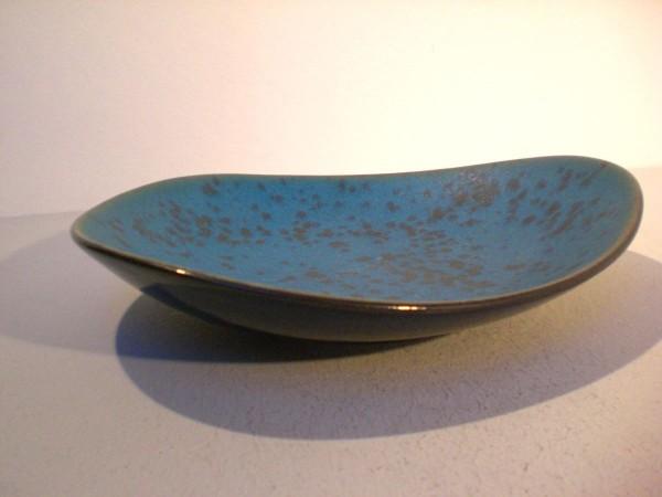 Organische Schale in blau - Fritz van Daalen