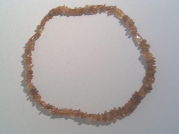 Lange Halskette - aus Bernstein