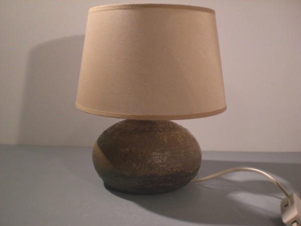 Bauchige Tischlampe - Wendelin Stahl für Kroesselbach