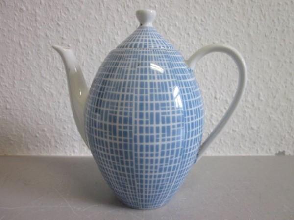 Kleine Kaffeekanne Arzberg 2000 Bastdekor Heinrich Löffelhard