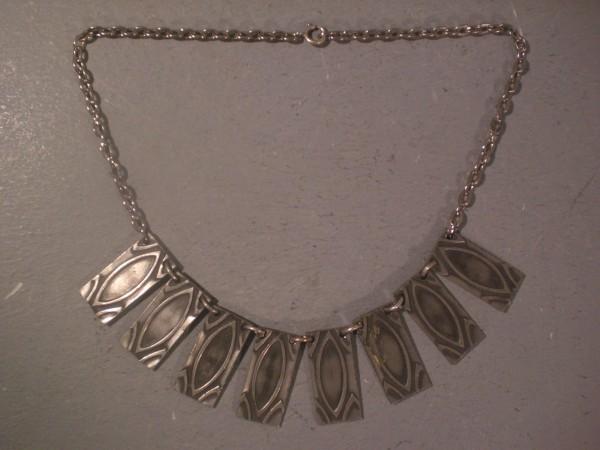 Collier aus Zinn - Dänemark 60s