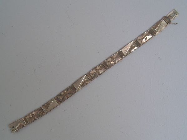 Art Deco Armband - Golddoublé