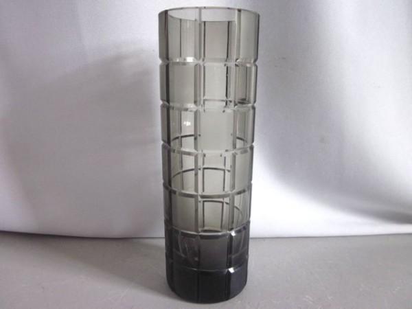 Zylindrische Vase Rauchglas - Rosenthal 1960s