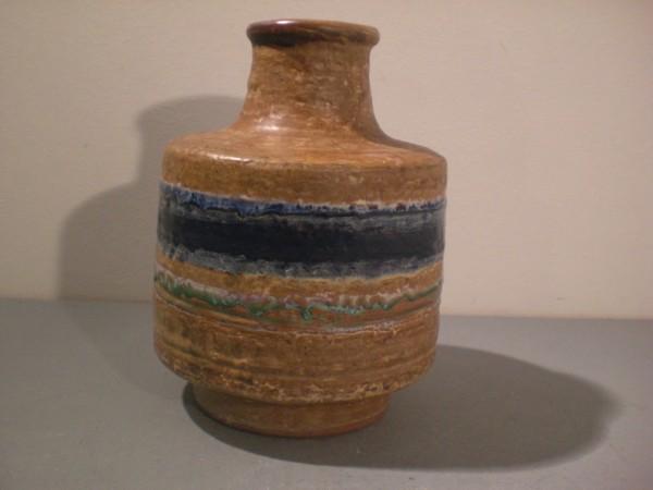 Vase Karlsruher Majolika - F. Glatzle
