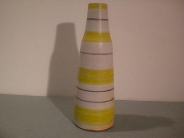 Vase mit Streifendekor - Kunsttöpferei Marschner