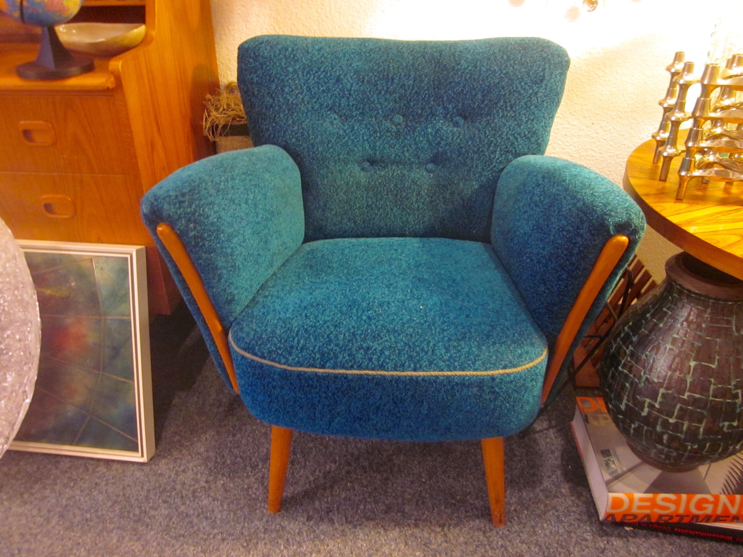 Sessel Cocktailsessel 50er Jahre Mid century Design selten