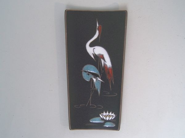 Ruscha Wandbild mit Vögeln