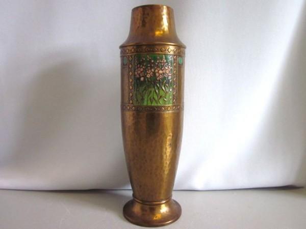 Grosse Vase Jugendstil - WMF Straussenmarke