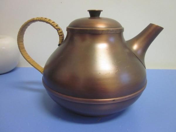 Harald Buchrucker Teekanne Kupfer um 1950