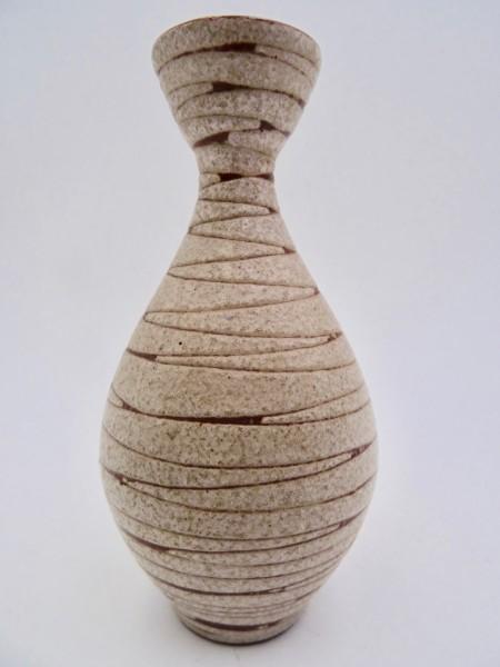 Karl Scheid kleine Vase Studiokeramik Keramikvase 1950er-/ 1960er-Jahre selten