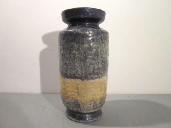 Blau-beige Vase Karlsruher Majolika - Fridegart Glatzle