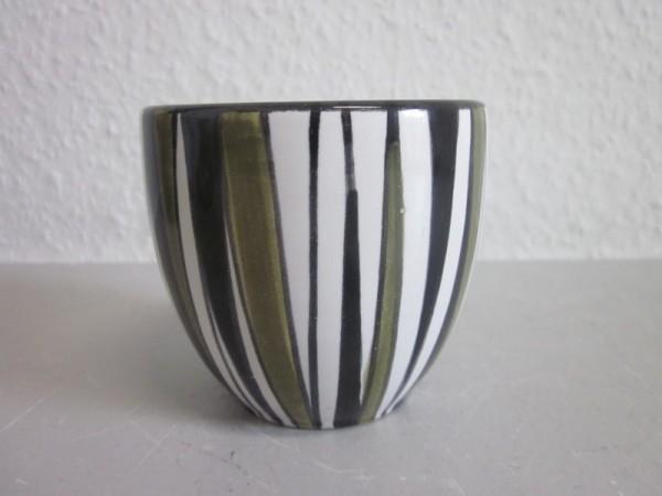 Kocheler Keramik - 50er Kakteentopf Übertopf