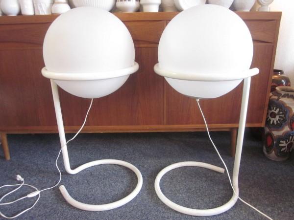 Zwei Lampen 60er HALA Zeist Woja