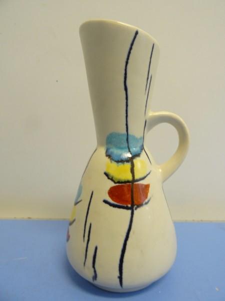 Bay Keramik Vase Keramik Modell 258 schönes Dekor 50er 60er