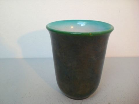 Kleine Art Deco Vase - Wächtersbach