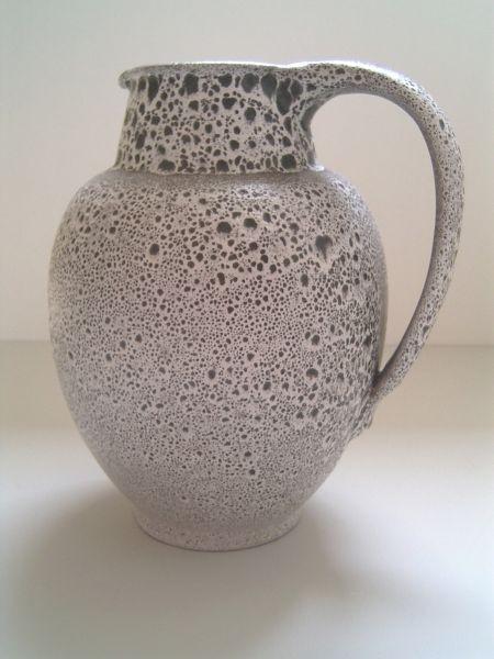 Große Kuch-Vase mit Kraterglasur