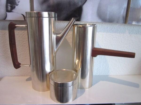 Kaffeekanne, Sahnekanne & Dose - Karl Dittert