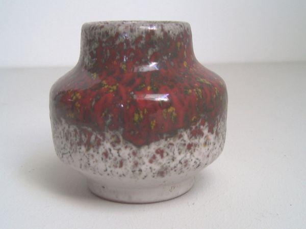 Vase mit Ochsenblutglasur - Karlsruher Majolika