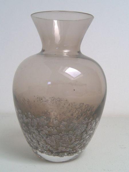 Vase mit Luftblaseneinschmelzungen - Schott Zwiesel