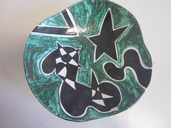 Edno Dänemark - seltene Keramikschae 60er-Jahre