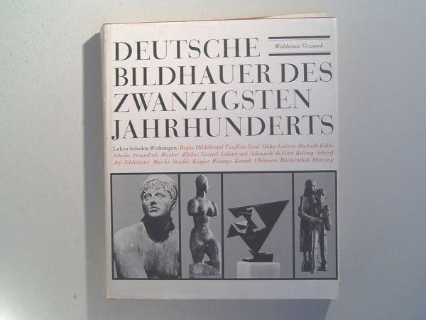 Buch 'Deutsche Bildhauer des zwanzigsten Jahrhunderts'