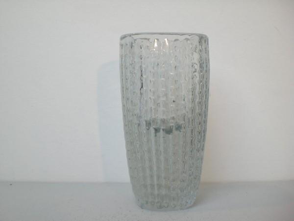 Schwere Vase mit Reliefmuster - Ingridglas