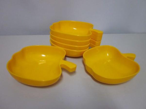 Set 6 Schalen in Apfelform - aus Luran®