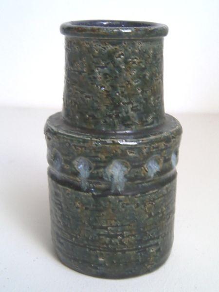 Italienische Kunstkeramik-Vase - Bitossi-Stil