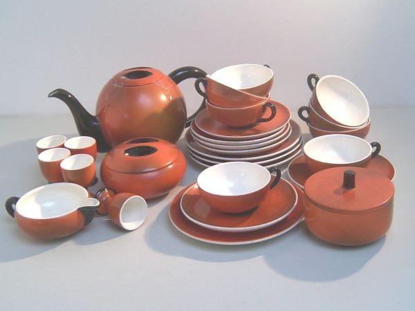 Grosses Konvolut Wächtersbach-Keramik HAARLEM - Ursula Fesca