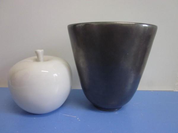 Richard Uhlemeyer Hannover - Vase mit Kupferglasur 50er