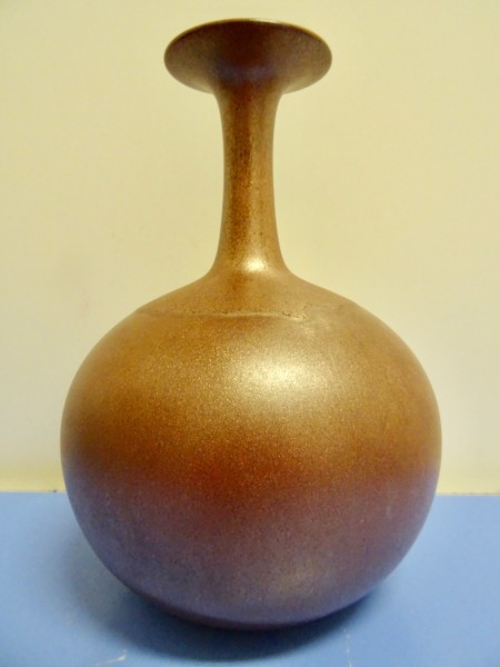 Hutschenreuther Rene Neue - große Vase Keramik Kupferglasur selten 70er
