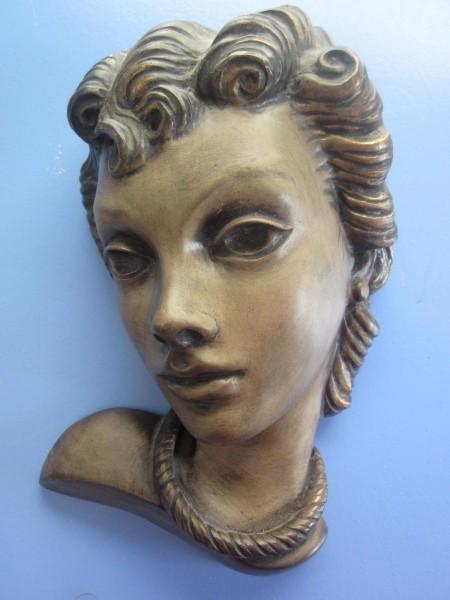 Achatit wandmaske 50er-Jahre