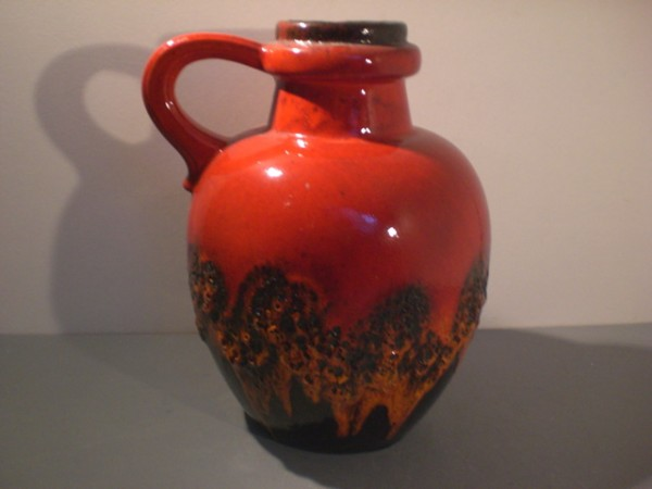 Grosse Lava-Vase 70s - Scheurich