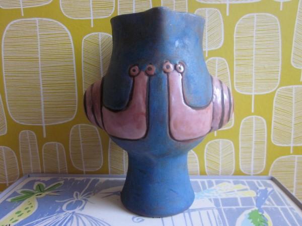 Vase mit Schnecken - Eva Fritz-Lindner