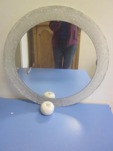 Grosser 70er Spiegel Plexi