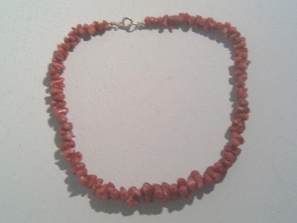 Halskette aus Astkorallen - um 1960