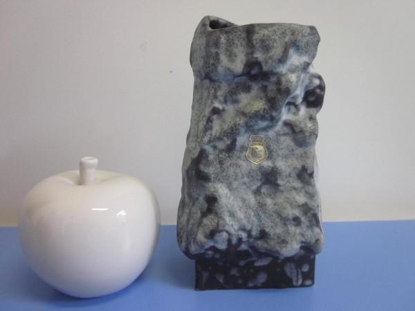ES-Keramik Vase Fels 60er 70er fat lava Keramik