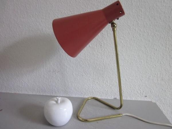 Tischlampe Lampe tube Italien era Sarfatti Arteluce Stilnovo 50s