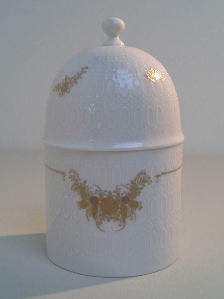 Rosenthal Deckeldose Romanze, Dekor B. Wiinblad