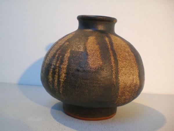Karlsruher Majolika Vase - Werkstattarbeit Fridegart Glatzle