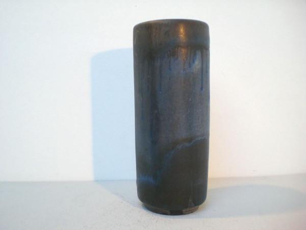 Große zylindrische Vase - Karlsruher Majolika