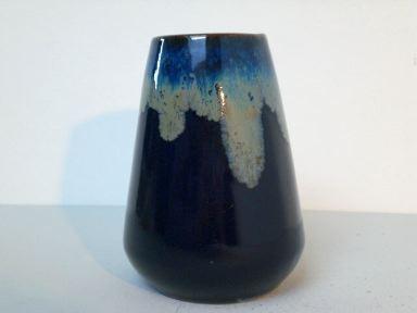 Vase mit Laufglasur - Carl Fischer Bürgel