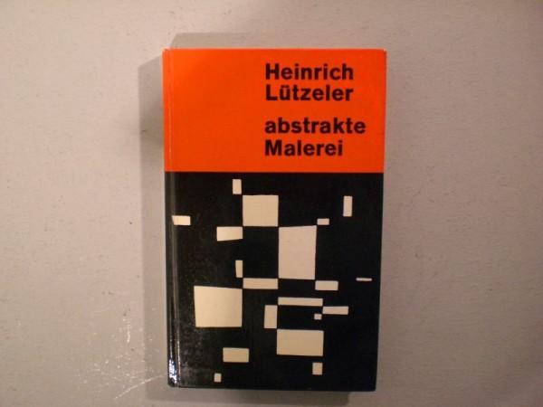 Buch Heinrich Lützeler : Abstrakte Malerei