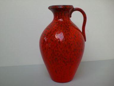 Große Vase mit Lavaglasur - Wächtersbach