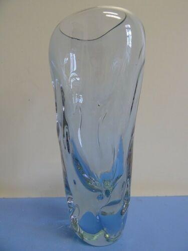 Miloslav Klinger für Zelezny Brod Sklo Union Vase Glasvase 60er Alexandrit selten