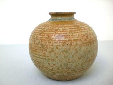 Kleine Art Deco Vase - handgedreht